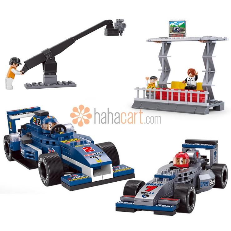 Giocattolo blocchi da costruzione, Corsa di Formula Uno di 300 Blocchi