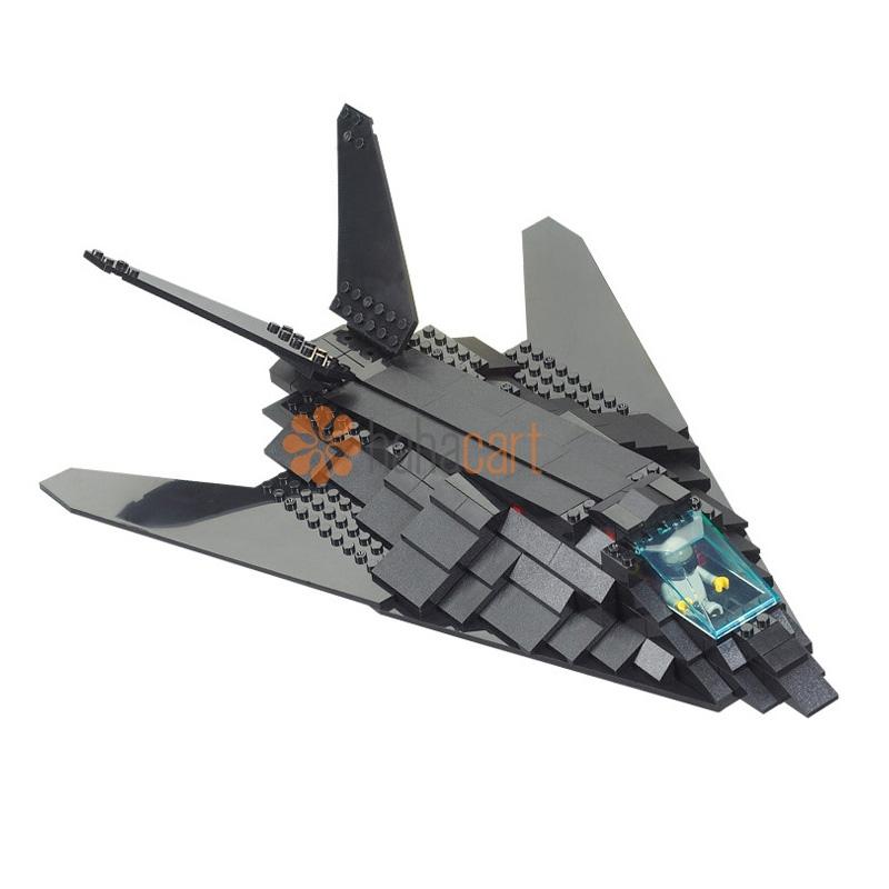 Giocattolo blocchi da costruzione, Bombardiere Stealth 209 Parti