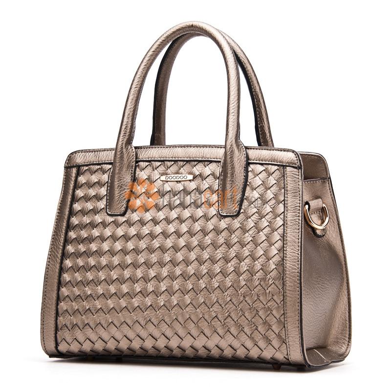 Weaving Style Top-handle Crossbody Shoulder Bag for Women