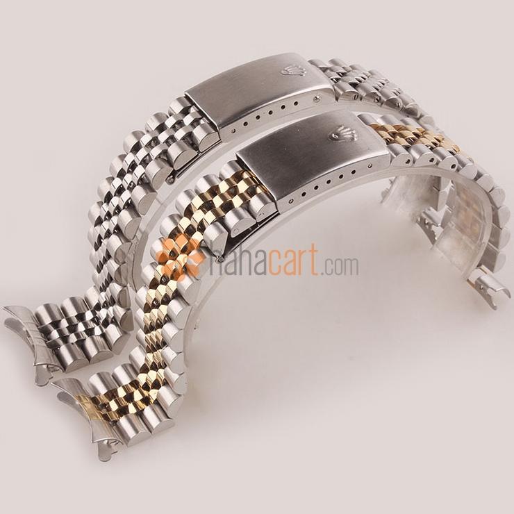 Cinturino orologio 20mm dell'acciaio inossidabile per Uomo, Chiusura déployante