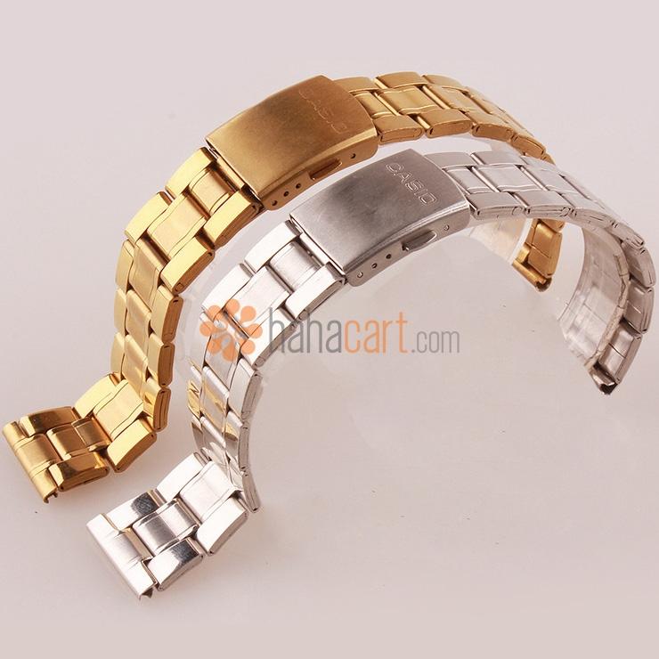Cinturino orologio 18mm/20mm/22mm dell'acciaio inossidabile per Uomo, Chiusura déployante