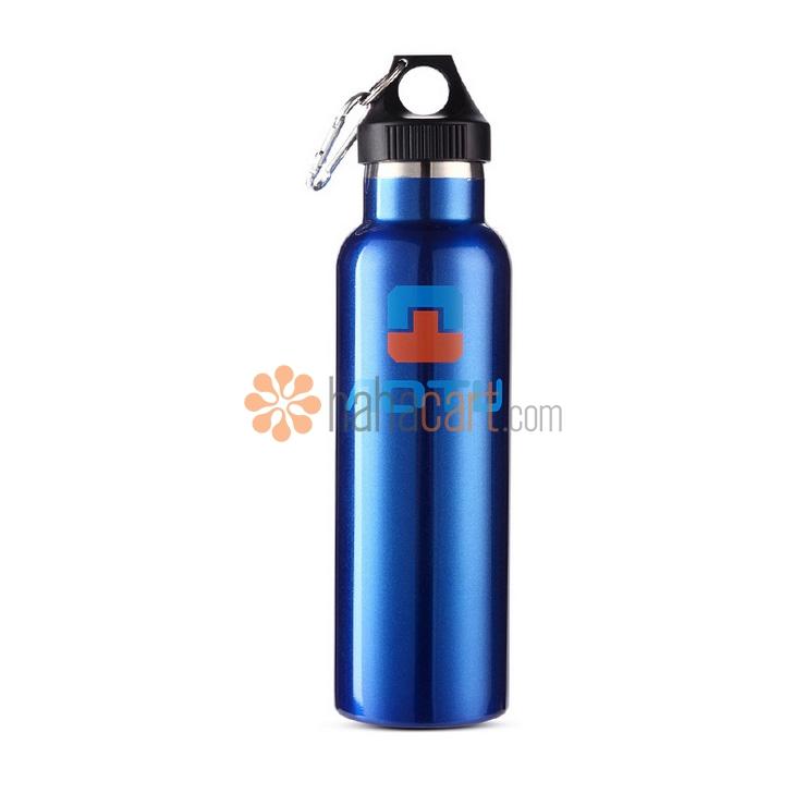 Bottiglia Sport, 600ml Capacità, Materiale in acciaio inox