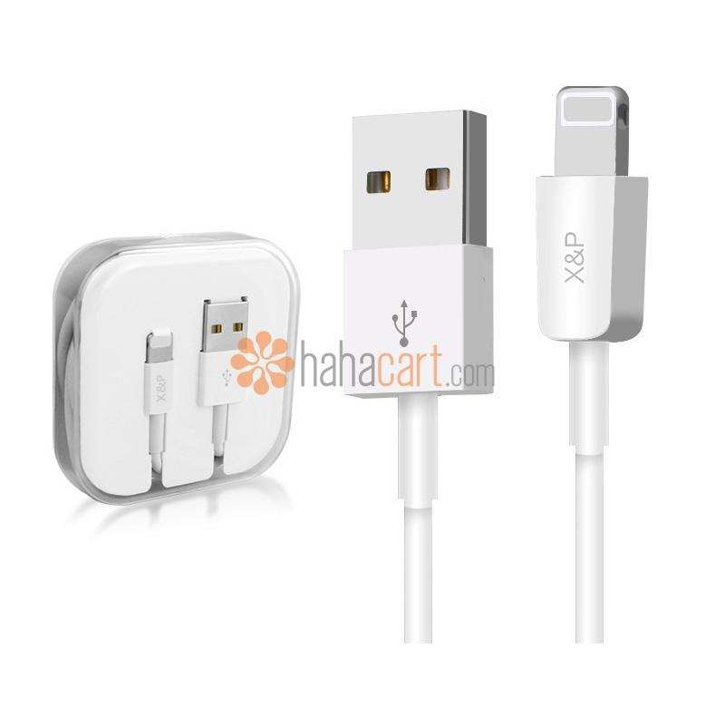 Câble de recharge rapide et synchronisation des données pour iPhone iPad iPod [ Longueur 1m ]