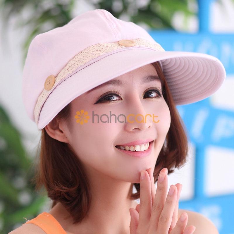Cappello da sole alla moda per donne, Protezione UV, Cappello a tesa larga, Cappello di spiaggia sabbiosa