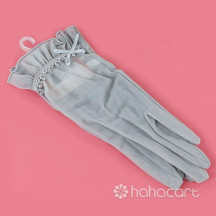 Mănuși pentru femei, Stil dantelă, Mănuși de UV-protecție de vară, Mănuși de conducător auto
