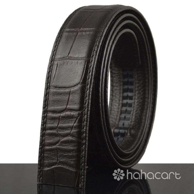 Cintura in vera pelle degli Uomini  - Non include fibbia della cintura