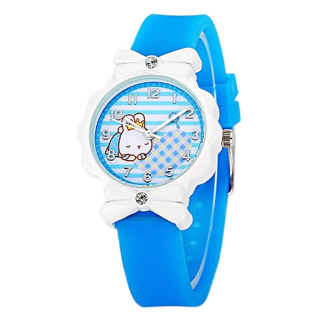 Girls' Quartz Wristwatch [ Cartoon Theme - White Rabbit ] Wrist Watch for Students