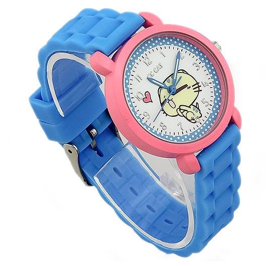 Reloj de pulsera para los estudiantes [ Tema de dibujos animados ]