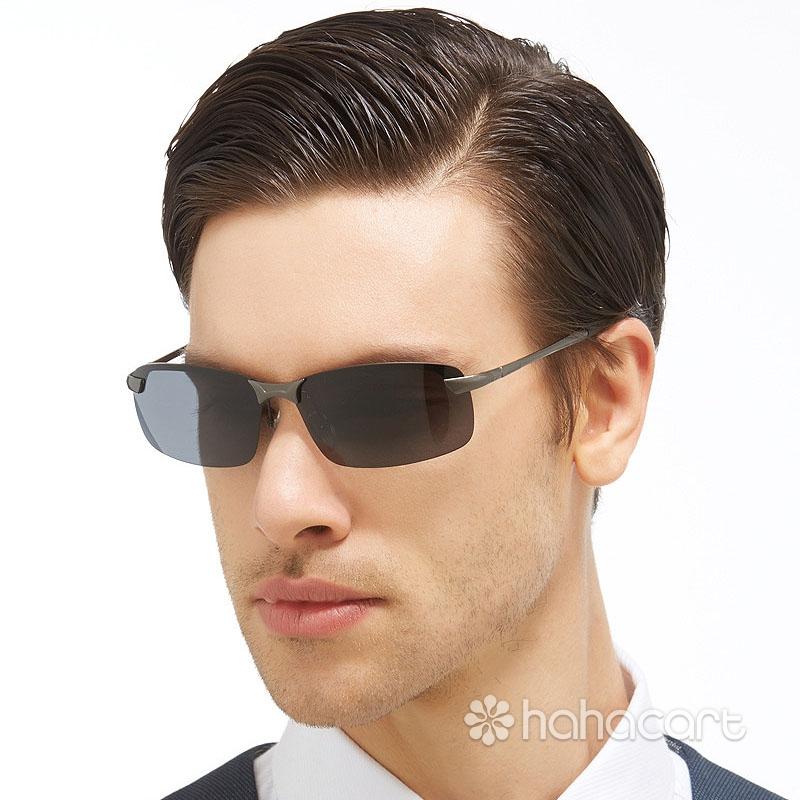 Ochelari de soare polarizat pentru bărbați, Antireflexie și UV400, Ochelari de soare pentru șofer