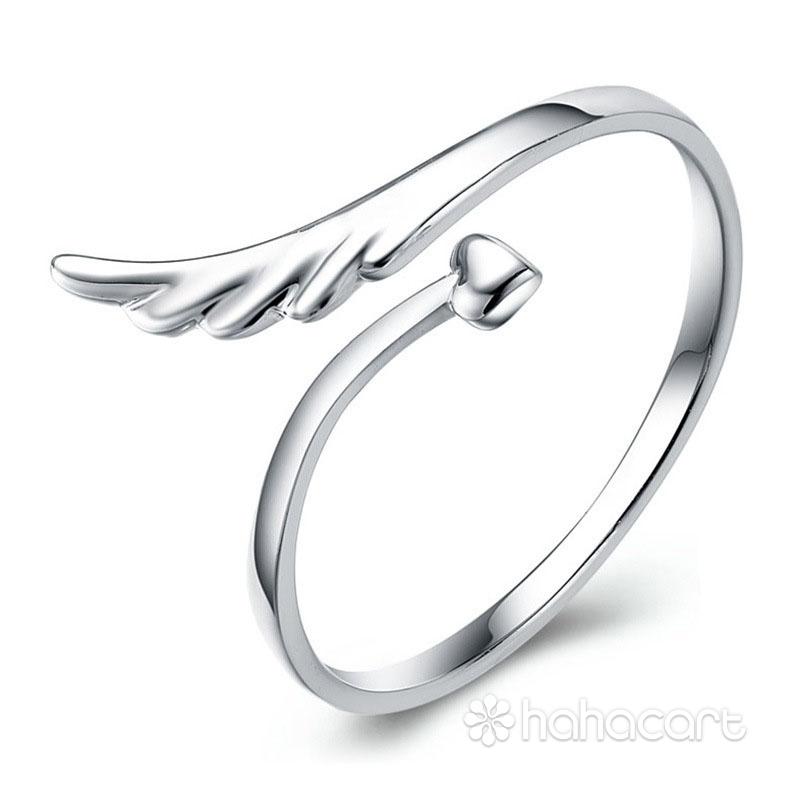Gioielli d'argento, Anello delle donne - Ala degli angeli