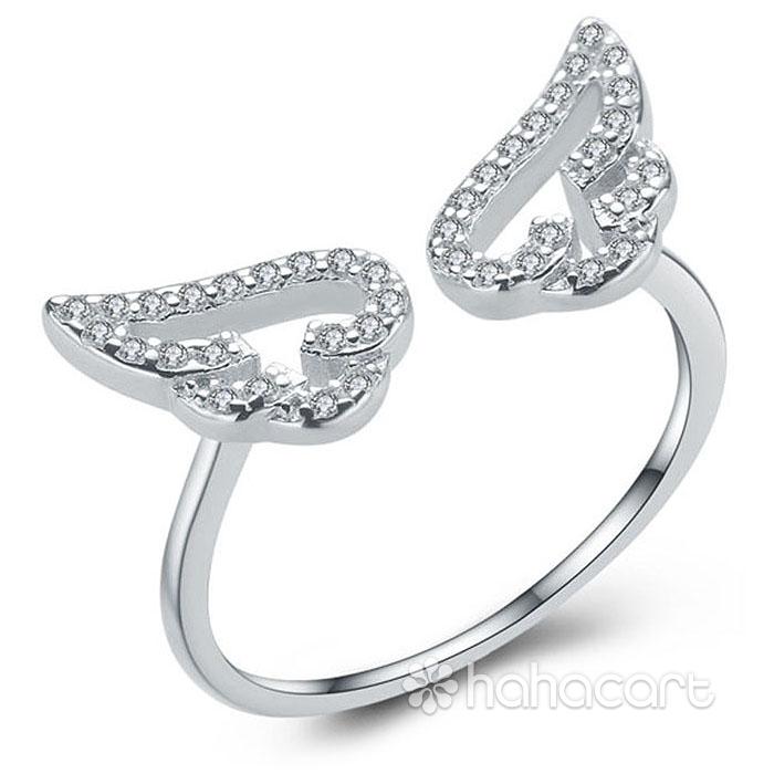 Bijuterii de argint, Inel pentru femei - Aripa de îngeri