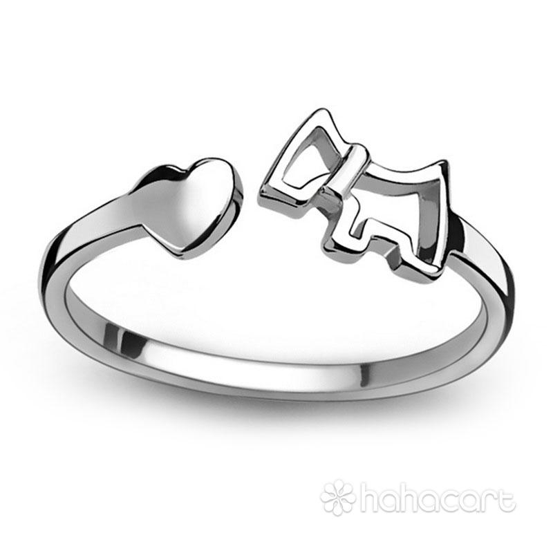 Bijuterii de argint, Inel pentru femei - Formă de cal