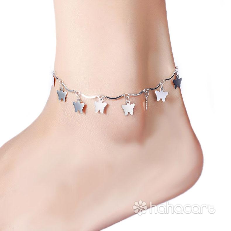 Bijuterii de argint S925, brățară pentru gleznă Femei