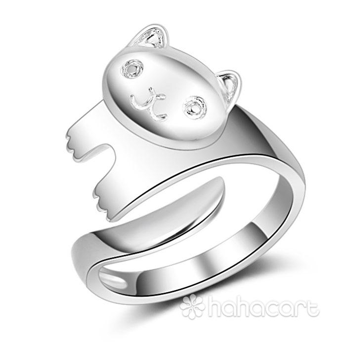 Bijuterii de argint, Inel pentru femei - Pandă