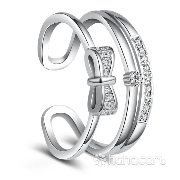 Zircon și Bijuterii de argint, Inel pentru femei