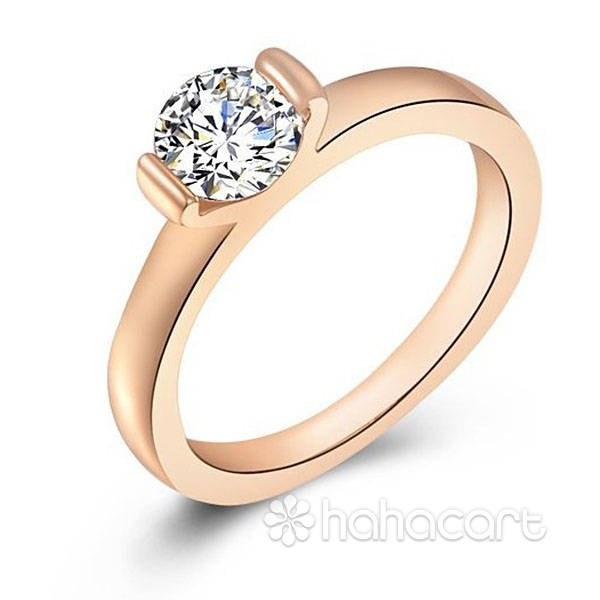 Acesorii de modă, Inel pentru Femei, Stilul de diamante imitație, Materiale din Aliaj și Zirconiu
