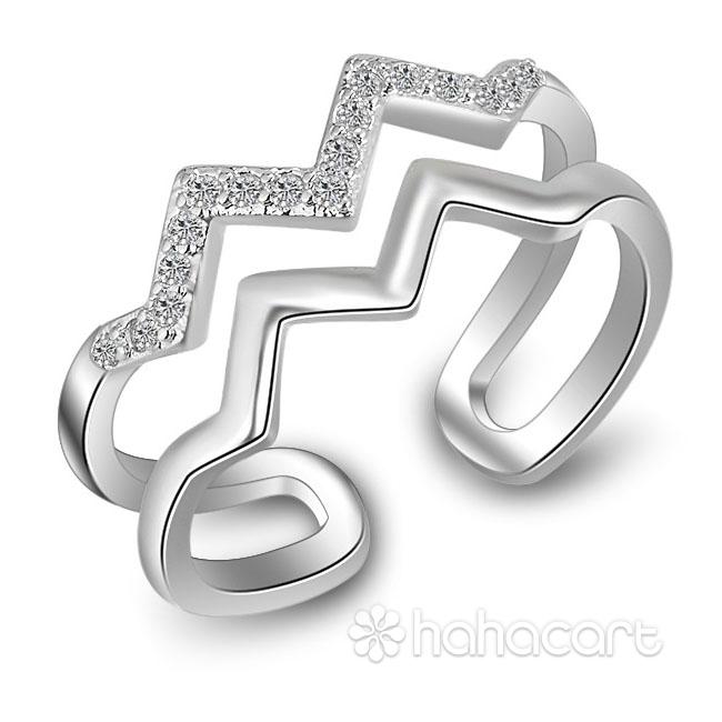 Gioielli d'argento e Zircone, Anello Donna
