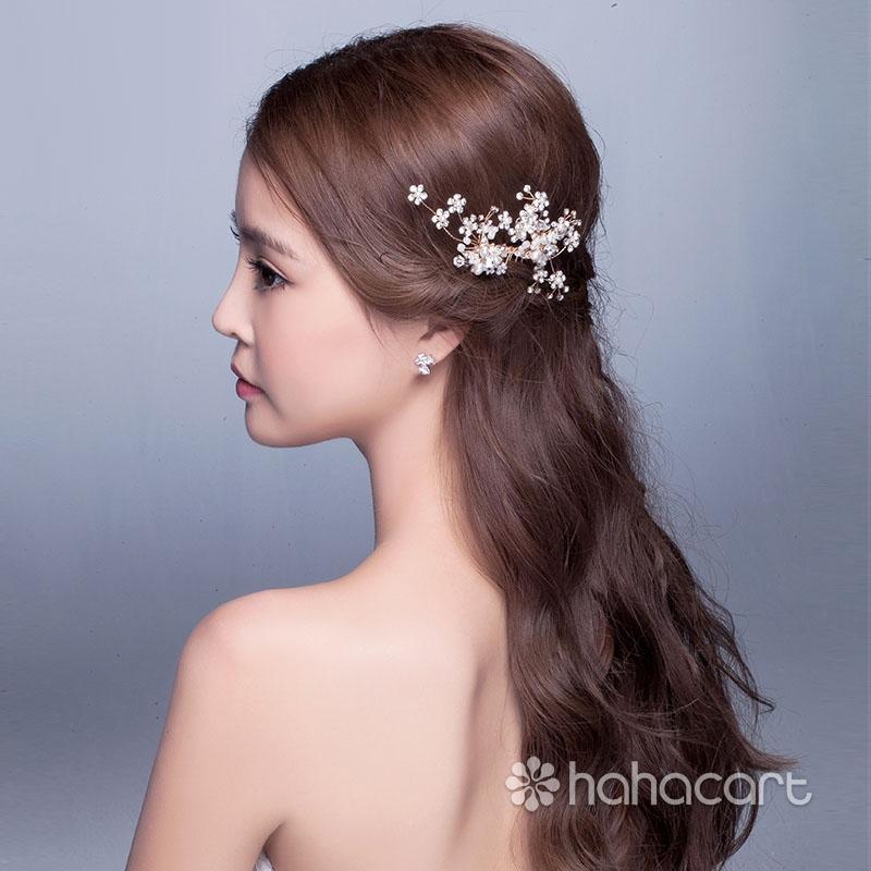 Accesorii pentru rochia de mireasa, Bandă de susținere pentru mireasa, Ac de păr