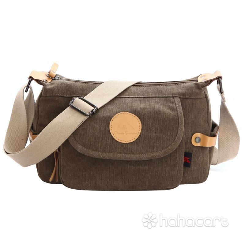 Torba za rame, Platno materijal mali torba