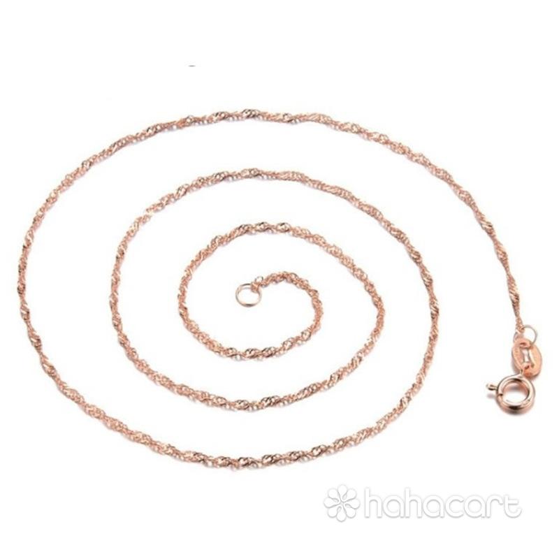Srebrni nakit, ogrlica Ženske, Ključna Kost Lanac