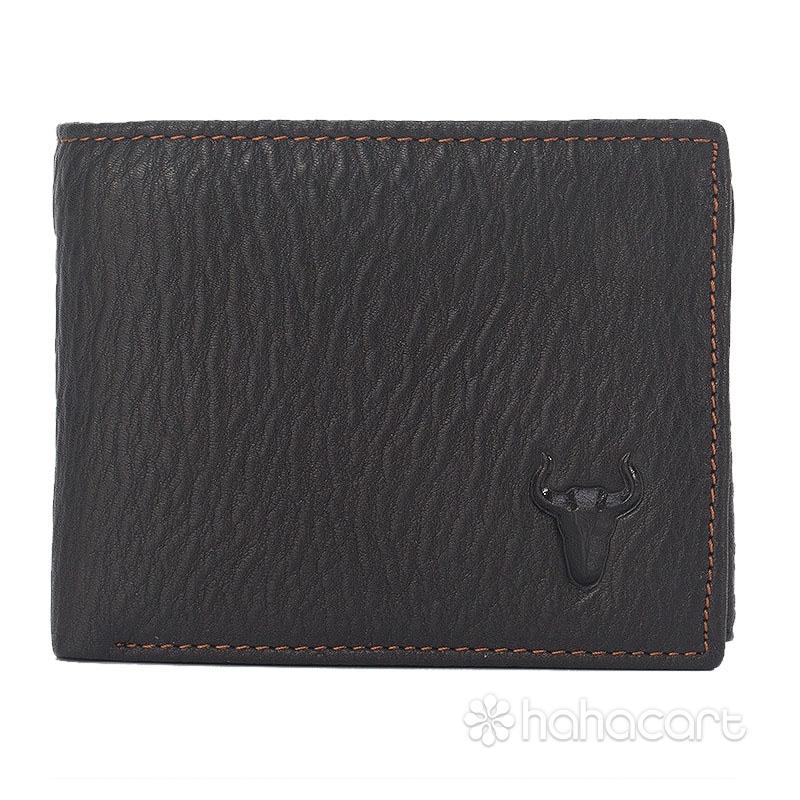 Ægte Læder Tegnebog til Mænd Kalveskind Materiale
